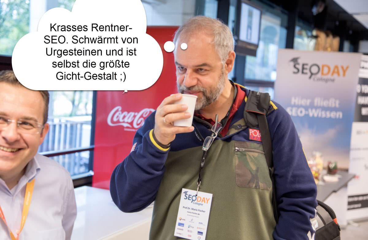 Mario Fischer gichtet